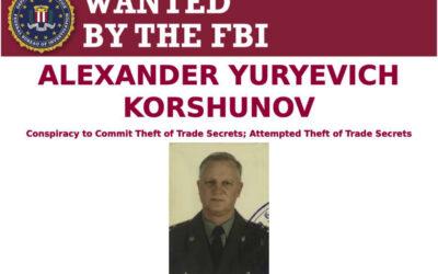 ФБР напомнило о розыске экс-топ-менеджера ОДК, назвав его сотрудником СВР